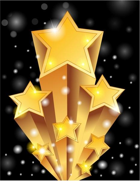super stars free vector