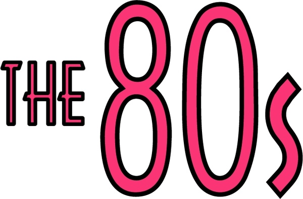 Download The 80s Free vector in Encapsulated PostScript eps ( .eps ...