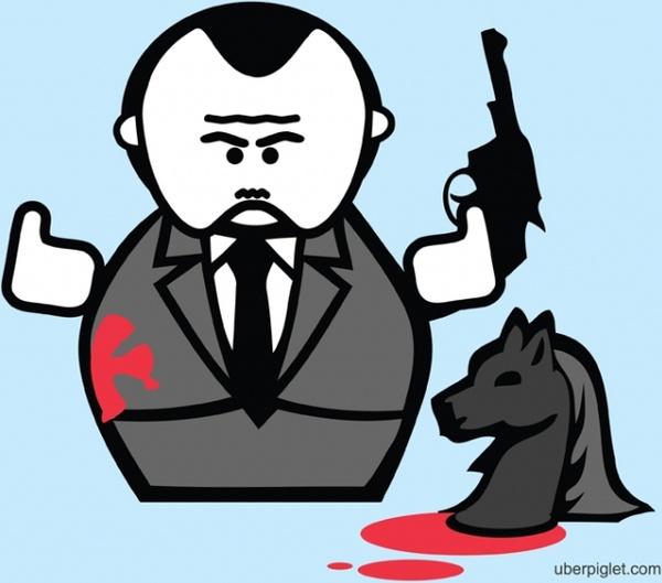 godfather cartoon free vector