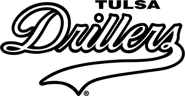 Tulsa drillers Free vector in Encapsulated PostScript eps