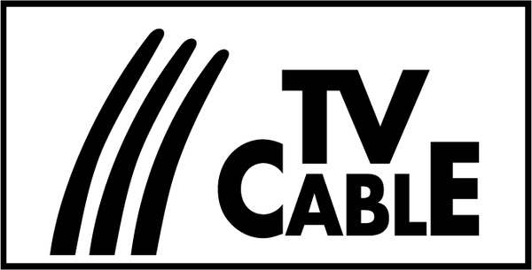 Tv cable Free vector in Encapsulated PostScript eps ( .eps