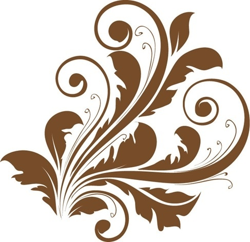 vector decorative floral design