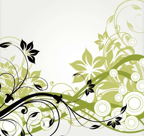 Free Vector Floral Swirls Download Free Vector Download