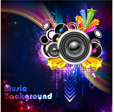 Dj background music free vector download 52221 Free