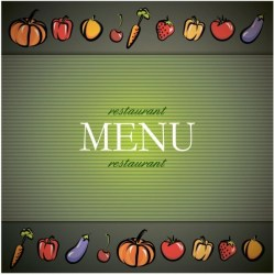 menu background vector bill fare vegetable food dollar graphic rights svg kill format commercial