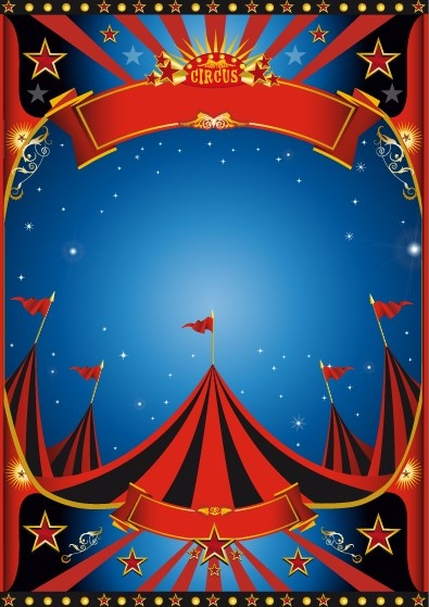 Vintage Style Circus Poster Design Vector Free Vector In