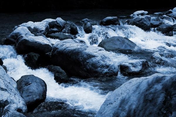 violent river