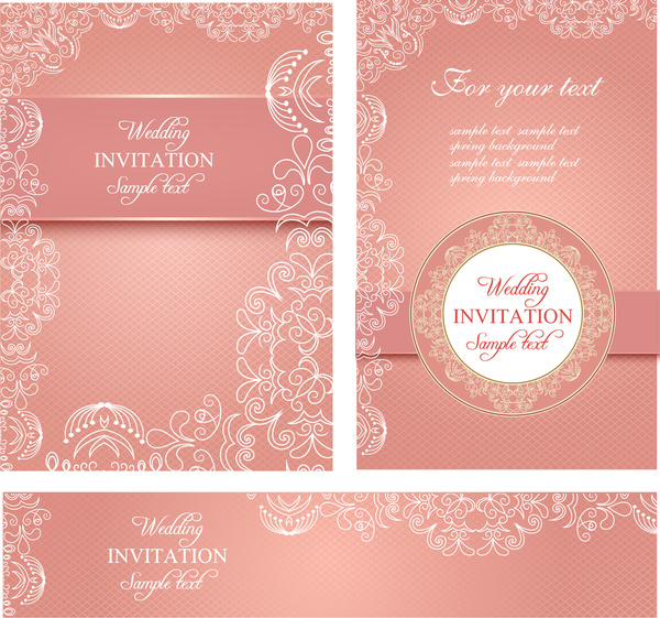 Wedding Invitation Card Templates Free Vector In Adobe