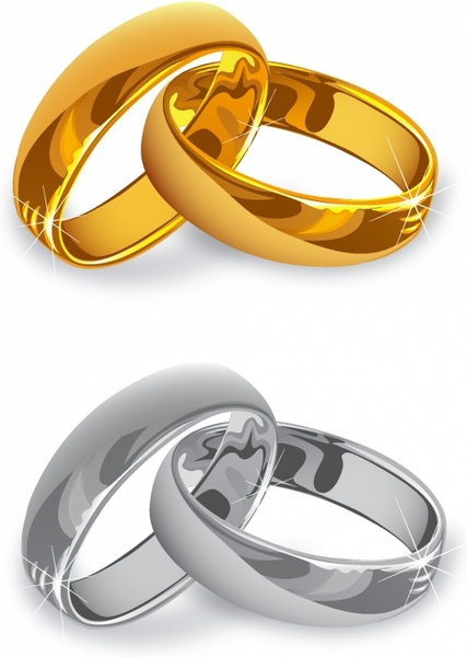 Image Result For Wedding Rings Vector Image