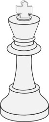 White King Chess clip art Free vector in Open office drawing svg svg vector illustration graphic art design format format for free download 57 58KB