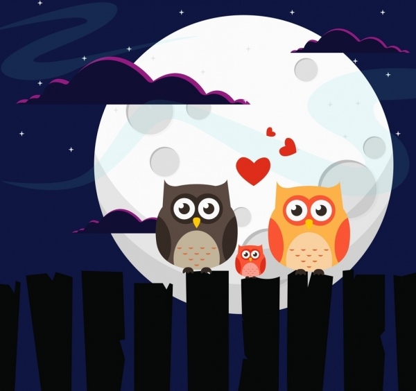 Cute Girl Sketch Wallpaper Owl Free Vector Download 274 Free Vector For Commercial