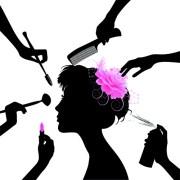 beauty salon clipart free vector