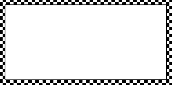 Worldlabel Border Bw Checkered X clip art Free vector in