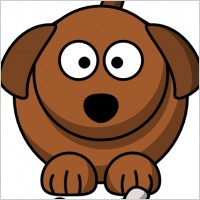 Cartoon Dog clip art