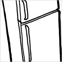 Fridge clip art Free vector in Open office drawing svg