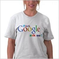 Fuck Google Ask Me Vector Logo