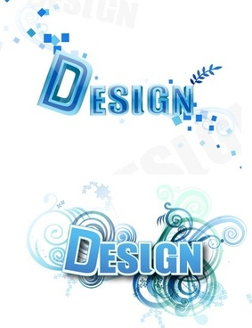 vector 3d letters free