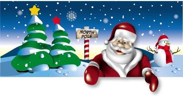Santa free vector download 892 Free vector for