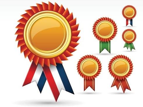 badge free vector download
