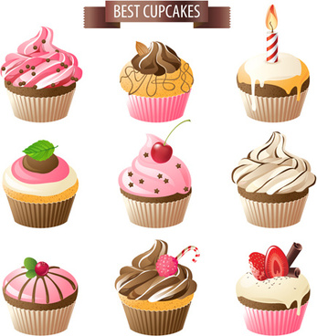 Cupcake Vector Free Vector Download 183 Free Vector For Commercial