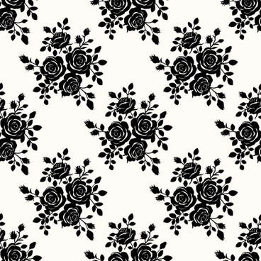 Rose pattern free vector download (19,201 files) for