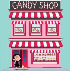 candy cartoon pink facade vector character decoration cakes various display vectors 72mb adobe illustrator 22kb