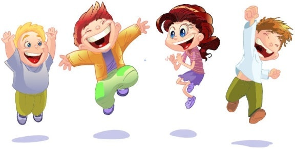 Image result for cartoon children playing