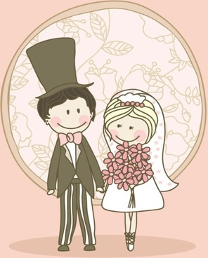 Image result for wedding cartoon