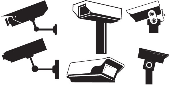 Cctv vector free vector download 13 Free vector for