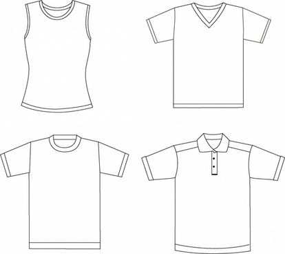 1 blank vector clothing Free vector in Encapsulated