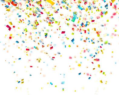 vector confetti free vector