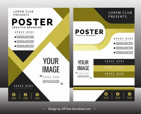 brochure free vector download