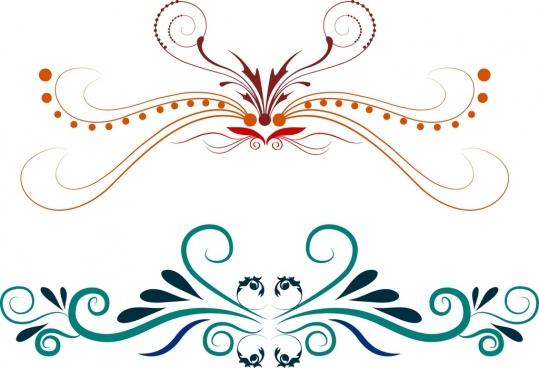 free vector decorative symbols