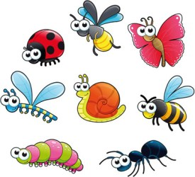 Cartoon insect garden clipart free vector download 23 569 Free vector for commercial use format: ai eps cdr svg vector illustration graphic art design