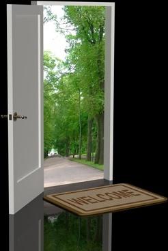 free door images free