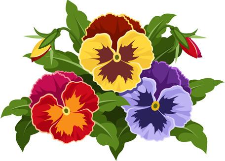 flower bouquet clip art free vector