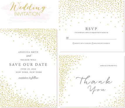 elegant birthday invitation free vector