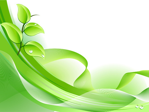 fresh green banner theme
