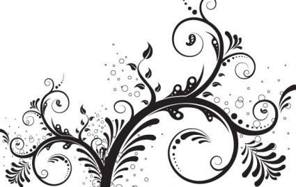 Floral Ornament Vector Png