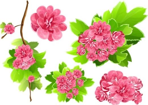 flower free vector download