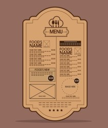 Food menu label free vector download 15 705 Free vector for commercial use format: ai eps cdr svg vector illustration graphic art design