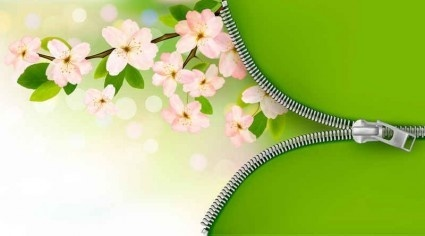 Background flower pink and green free vector download 63 021 Free vector for commercial use format: ai eps cdr svg vector illustration graphic art design
