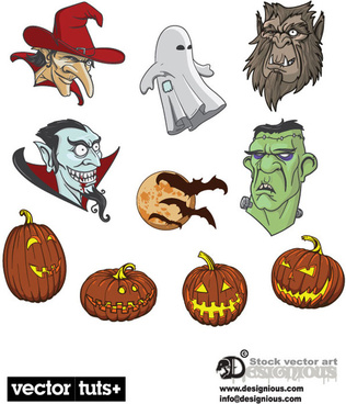 Halloween Icon Free vector in Open office drawing svg