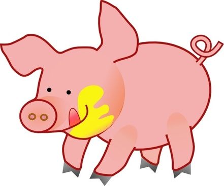 pig free vector