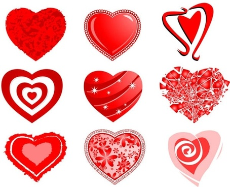 heart free vector download