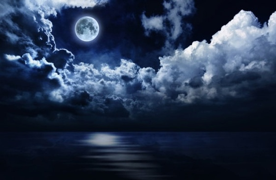 moon stars free stock