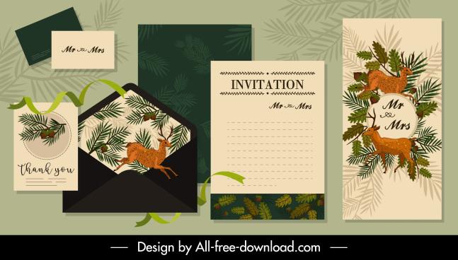blank invitation card template free