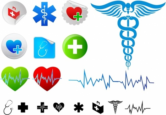 Medical logo free vector download 68467 Free vector for commercial use format ai eps cdr