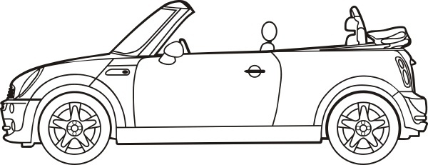 Car outline and vector art Free vector for free download