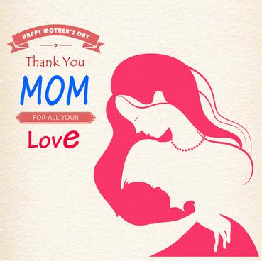 happy mother day sticker